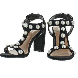 Madden Girl Women's CARLA Black Sandals Heels